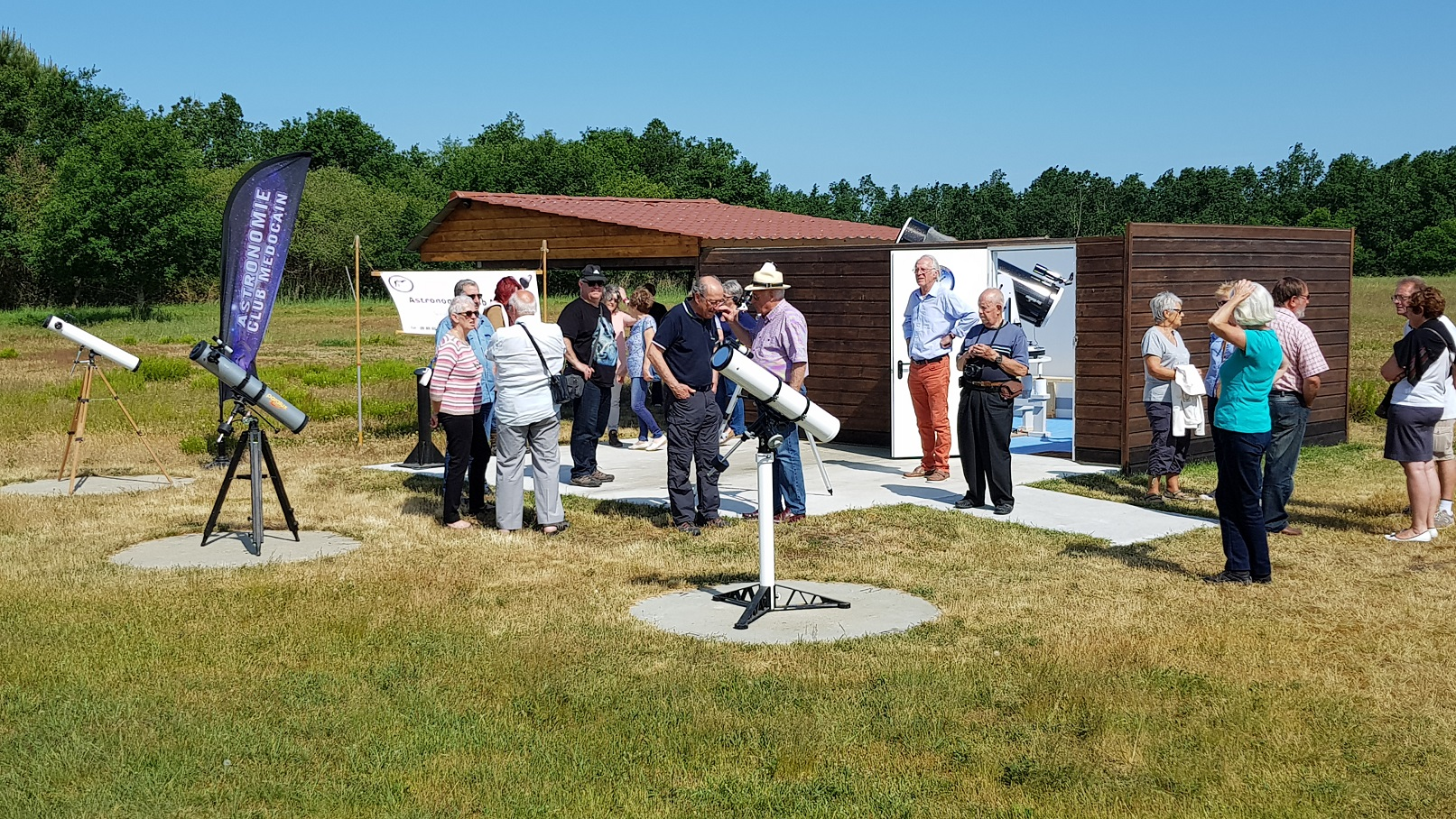 inauguration de l'observatoire 26 mai 2018