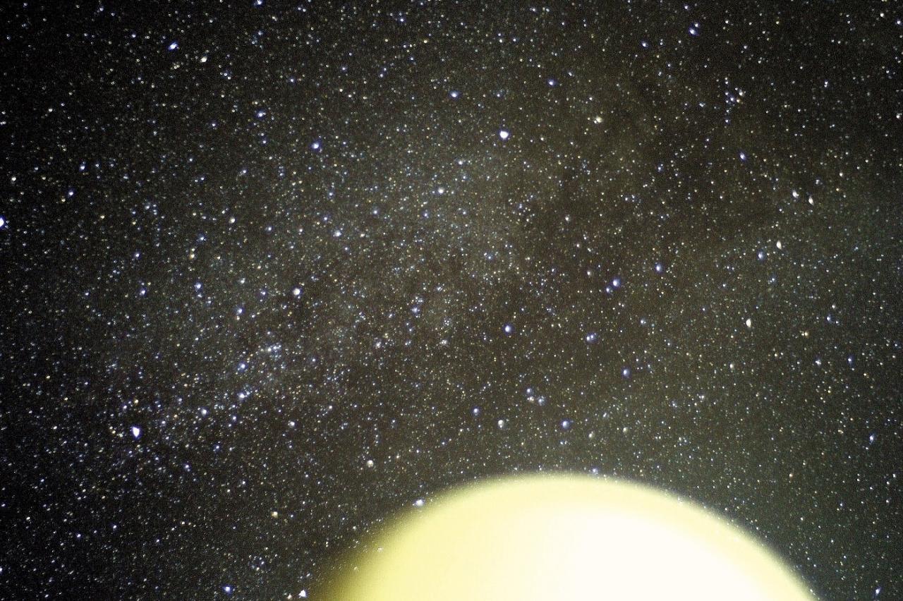 La voie Lactée en Aout Montalivet