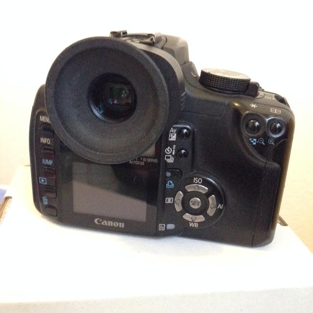 Canon 350D défiltré