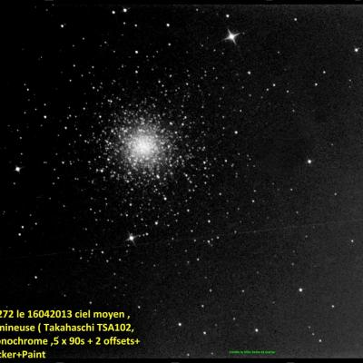 M3  NGC 5272  Constellation du Bouvier