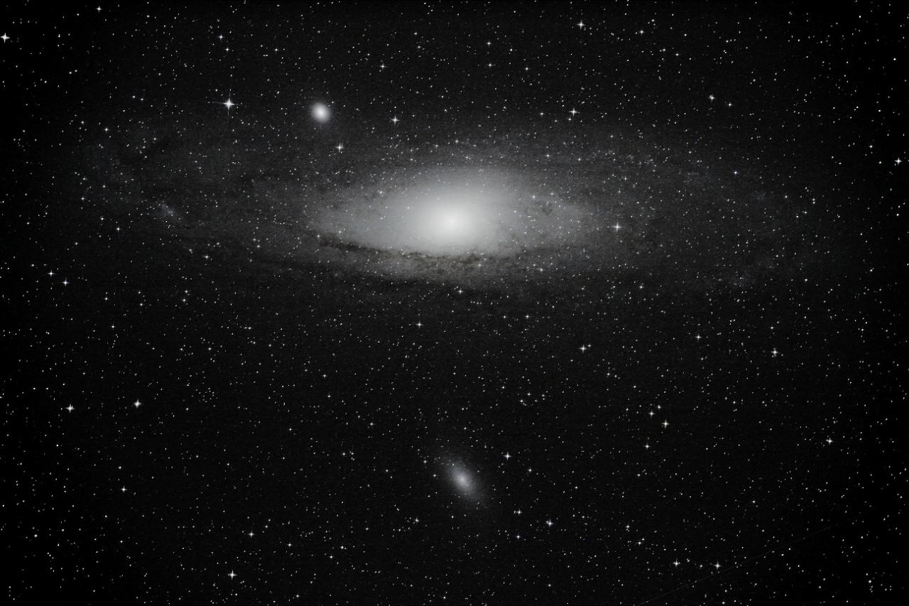 M31 Andromède Septembre 2013