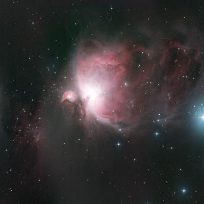 M42 Nébuleuse d'Orion le 21/11/2020 par Thierry (astronomie club médocain)