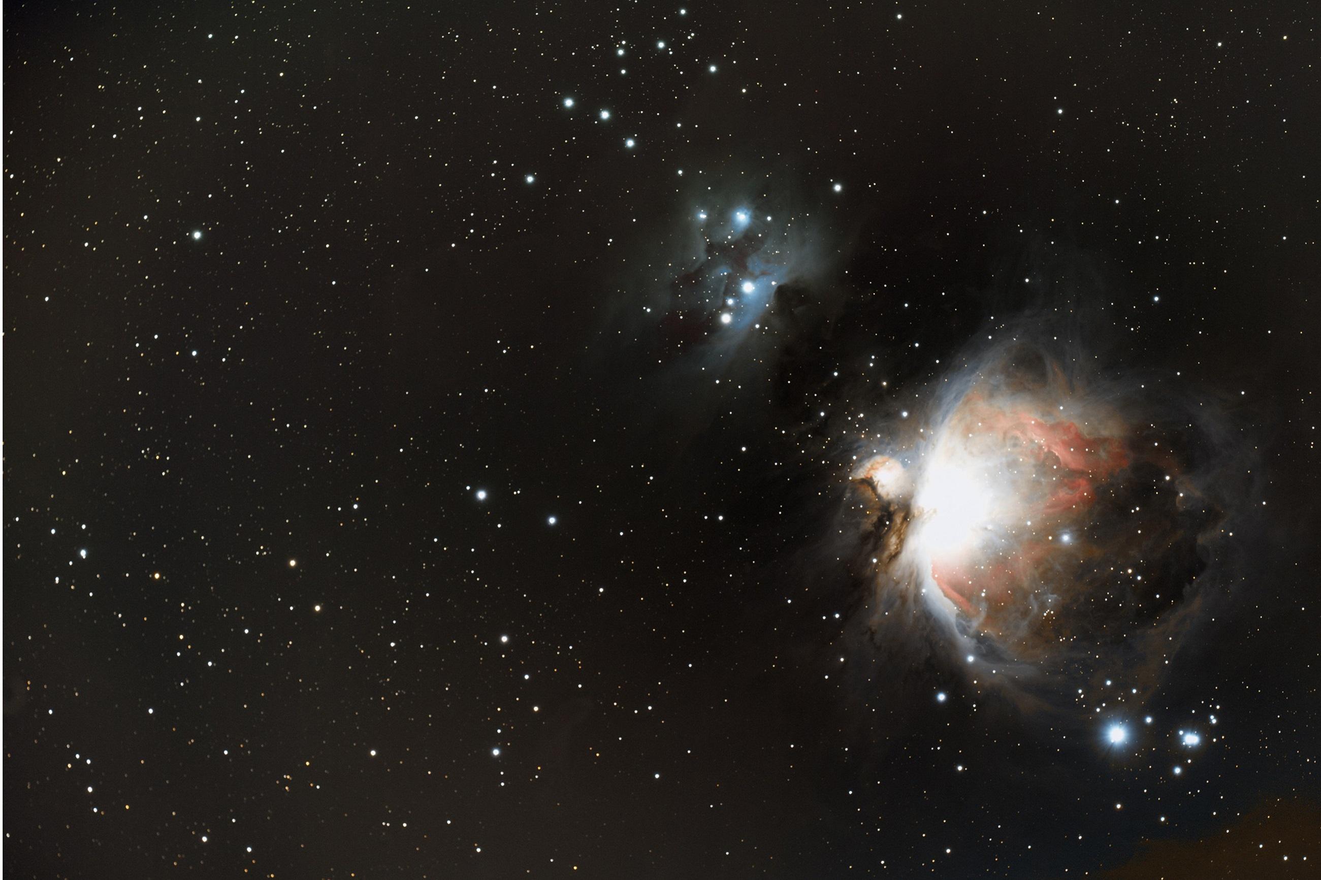 M42 nébuleuse d'Orion le 19 janvier 2020