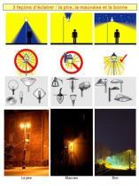 3-façons d'éclairer