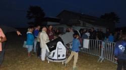 Nuits des étoiles 2016 Vendays-Montalivet environ 250 spectateurs