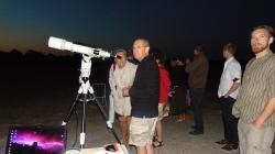 Nuits des étoile 2014 une peu plus de 100 visiteurs