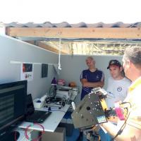 Etienne et son spectromètre haute résolution Lhires III