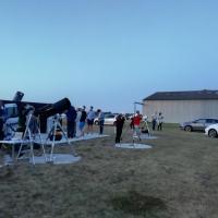 Préparation du matériel nuits des étoiles 2019