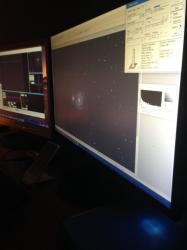 Ecrans de contrôle autoguidage et caméra CCD
