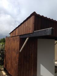 déplacement du toit concluant aprés réglage