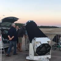 Nuit des étoiles à Hourtin Port 11août 2017